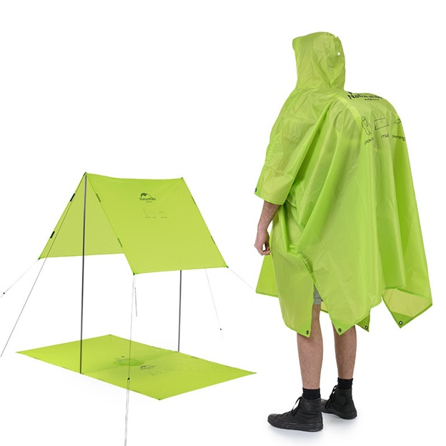 3-In-1 Portable Hiking Poncho